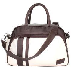 BOLSA MATERNIDADE MEDIA CLASSIC BROWN & RAW Baby Bags, Handmade Bags, Gym Bag, Purses, Fashion, Baby Girls, Wallets, Molde, Bedroom