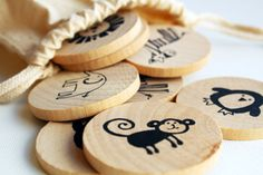Make a Match Toddler - Zoo Edition - A Montessori and Waldorf Inspired Matching and Memory Game