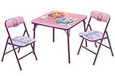 Nickelodeon Paw Patrol Skye & Everest Table & Chair Set (3 Piece)