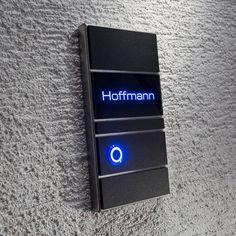 Aufputz Türklingel Edelstahl LED