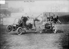 Auto Polo at New York in 1913