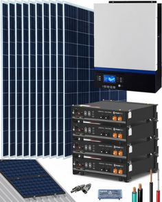 Kits Solares Vivienda Permanente | Comprar Kits Solares Vivienda Permanente al Mejor Precio Kit Solar, Solar Projects, Shopping, Solar Panels, Solar Energy, Anime Girls