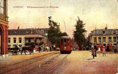 Wittevrouwenpoort 1919 | Een tram naar de Uithof door de Biltstraat..? Vertel eens iets nieuws