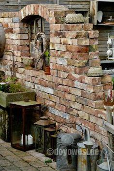 Ruinenmauer in Silkes Garten - Karin Urban - NaturalSTyle