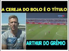Arthur do Grêmio fala do Grêmio na final da Libertadores e fala de Tite ...