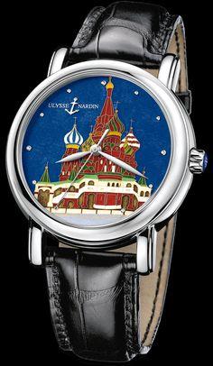 ULYSSE NARDIN Kremlin Set (President Putin watch)