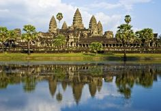 Angkor Vat - Buddhism in Cambodia peace and tranquility