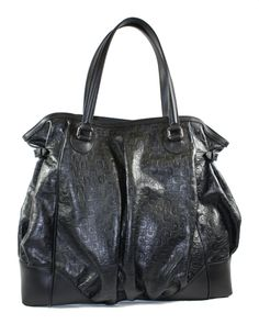 "Gucci Galaxy Handbag Horsebit Design  -Material: Leather Closure  -Magnetic Snap Interior Pockets  -Fully lined in black canvas  -Double handles are long enough to be carried on shoulder  -Made in Italy  -Dimensions: 16"" W x 15"" Tall x 5.5""  http://clutchpursesandaccessories.com/gucci-galaxy-handbag-horsebit-design"