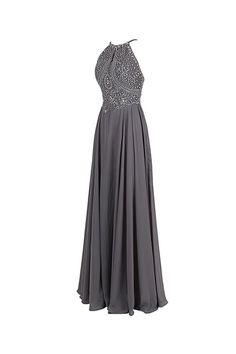 2016 Top Selling Gray Chiffon Backless Cheap Long Evening Prom Dress ED0651