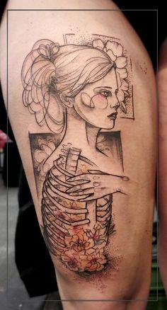 Anki Michler, tattoo artist (4)