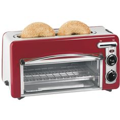 Cute!!! Love this style and the red :) (Toastation Toaster & Oven)