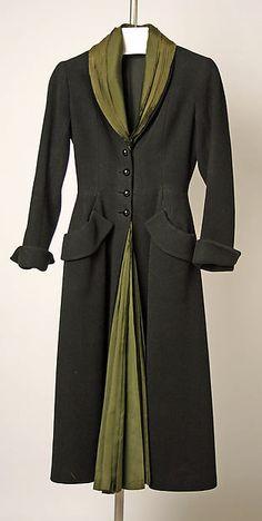 """Dior - """"Mystère"""" - Fall/Winter 1947-48. Wool, silk"""