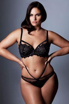 Joby Bach in stunning lingerie