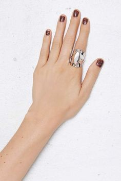 Metal Band Molded Ring