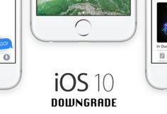 Downgrade iOS 10: puoi ricorrere al fatidico downgrade, la procedura che permette di tornare all'ultima versione di iOS 9 perfettamente funzionante.