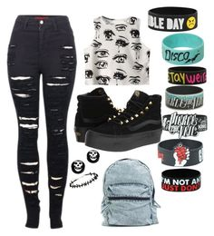 """""""Untitled #68"""" by edithisonfire on Polyvore featuring 2LUV, Chicnova Fashion and Vans"""