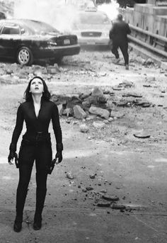 "Black Widow during the Battle for Manhattan, ""Marvel's The Avengers"""
