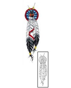 This Feather tattoo design from our Miscellaneous tattoo category was created by Cherry Creek Flash. This tattoo includes a printable full size color reference, and exact matching stencil. More Artists trust Tattoo Johnny than any other brand.