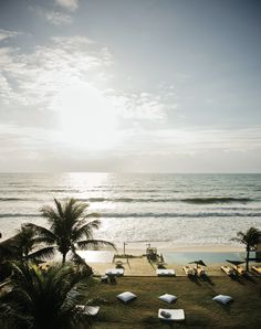 The rustic beach town of Alagoas, Brazil