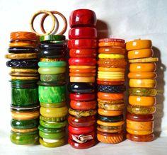 My bakelite bangle collection | Collectors Weekly