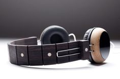Stylish Headphones Repurpose Discarded Guitars - My Modern Metropolis