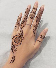 Pretty Henna Designs, Modern Henna Designs, Floral Henna Designs, Latest Henna Designs, Henna Art Designs, Mehndi Designs For Girls, Mehndi Designs For Beginners, Mehndi Design Images, Mehndi Designs For Hands