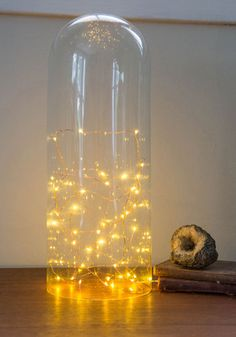 Tiny twinkling string lights