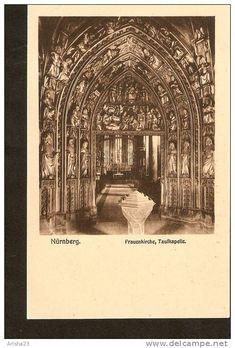 504. Germany, Nurnberg - Frauenkirche , Taufkapelle - Ferd Schmidt, Nuernberg