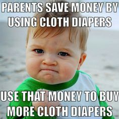 My name is Misty and I'm addicted to cloth diapers...