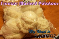 Learning the Ropes...One Recipe at a Time: Freezer Mashed Potatoes