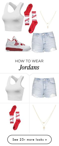 """""""Untitled #234"""" by tanasia2266 on Polyvore featuring Topshop, HUF, Betsey Johnson and NIKE"""