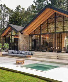 Dream Home Design, Modern House Design, Home Building Design, Building A House, Dream House Exterior, House Goals, Exterior Design, Future House, Architecture Design
