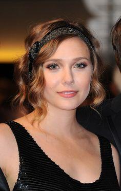 elizabeth olsen - flapper cool, dramatic eyes