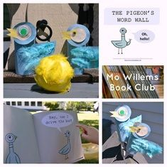 Mo Willems Book Club: A Library of Resources (40+ activities for children; book, DVD & toy collections; official websites; articles, interviews and more...) {Smile Play Learn}