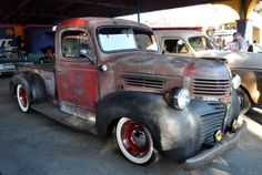 Ratrod Dodge Pickup Truck
