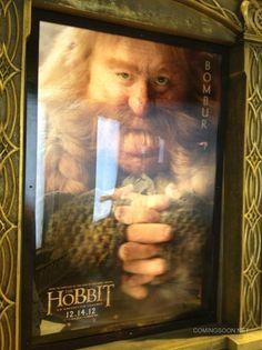 Cartel de El Hobbit, protagonizado por Bombur y que se verá en la #ComicCon #SDCC