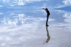 Bolivia Salt Flats - Earth is the Sky