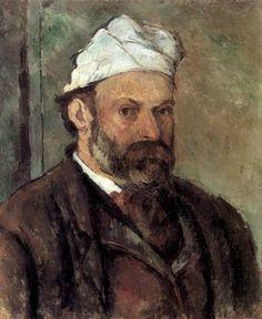 Paul Cézanne · Autoritratto · 1881 · Die Pinakotheken · München
