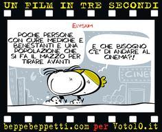 Beppe Beppetti - Un film in 3 secondi: Elysium