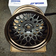 Dropping this beauty to BenSopra's for their new demo car! WORK Seeker CX 18x11.5J -37mm!