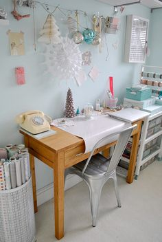 Crafting for Christmas, via Flickr.