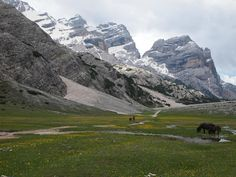 **Alpe di Fanes (amazing hiking) - San Vigilio, Italy
