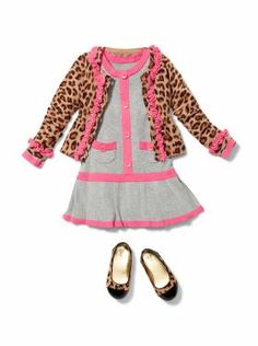 Baby Clothing: Toddler Girl Clothing: New: Bryant Park | Gap Seriously! Bella would Die, talk about obsessed with leopards