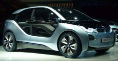 BMW's new electric car i3.