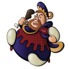 Henry VIII on the run