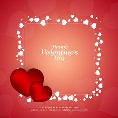 Abstract Happy Valentine's day background, Abstract, Background, Card PNG and Vector