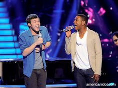 "Even though Phillip and Joshua have different styles the judges all agreed that they blended their voices very well together during their performance of ""This Love"" by Maroon 5."