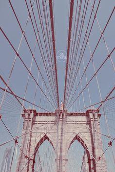 New York ~ Brooklyn Bridge :)