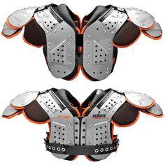 Schutt XV HD Varsity Football Shoulder Pad All Purpose - Quarterback and Wide Receiver