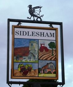 The Sidlesham Heritage Trail.  The new village sign built in 2014.